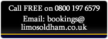 Oldham Limo Contact Info